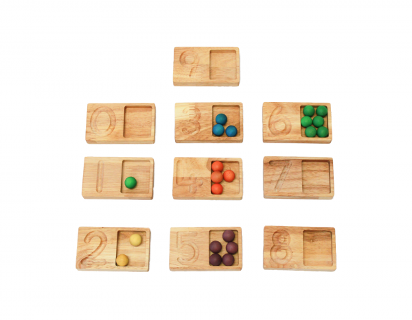 Qtoys - Counting and Writing Tray Set