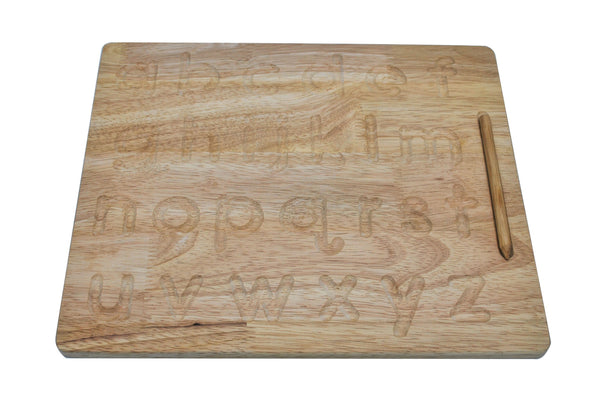 Qtoys - Lower Letter Tracing Board - No Arrows