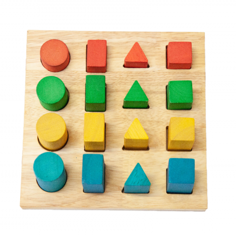 Qtoys - Shape and Size Board