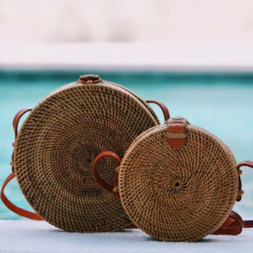 Scandic Gypsy Rattan Bag - Bali