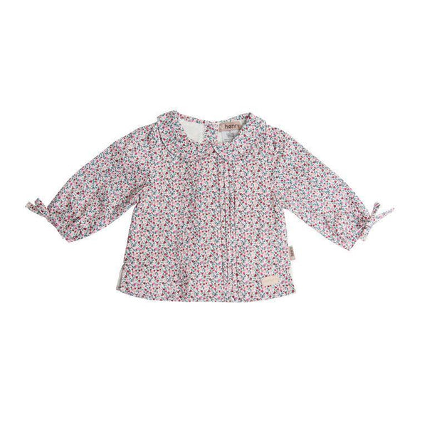 Love Henry Shirt Top - Pink Floral