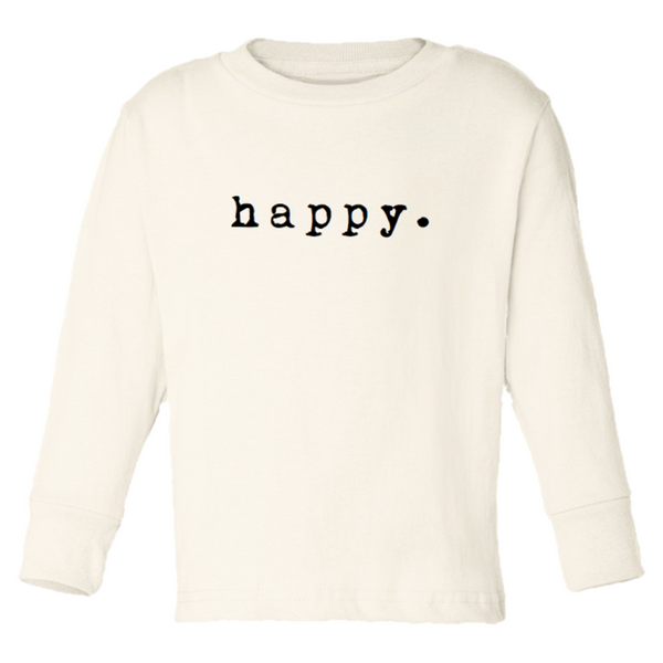 Tenth & Pine Long Sleeve Tee - Happy