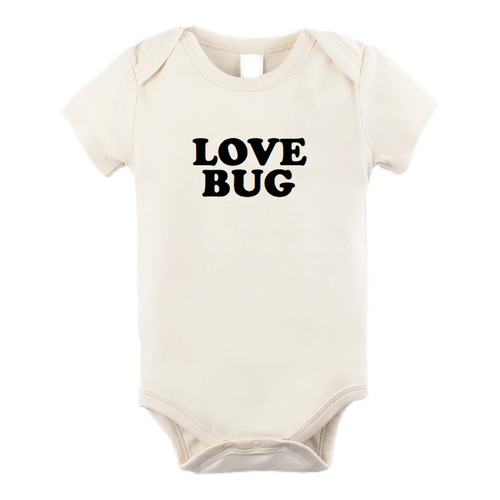 Tenth & Pine Short Sleeve Onesie - Love Bug