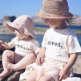 Tenth & Pine Short Sleeve Onesie - Loved