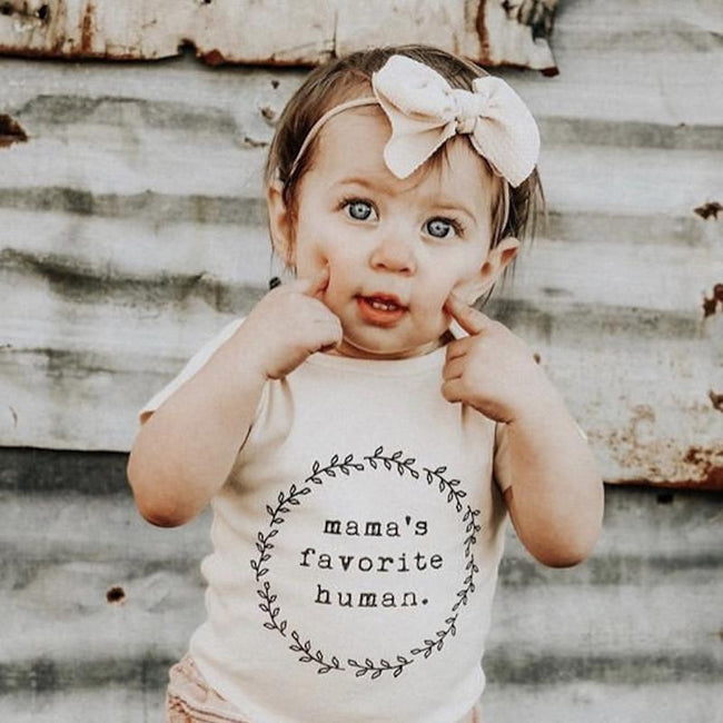 Tenth & Pine Short Sleeve Onesie - Mamas Favorite