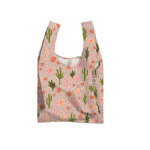 The Somewhere Co. Reusable Shopping Bag - Blooming Cacti