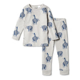 Wilson & Frenchy Organic Long Sleeve PJ Set - Little Adventurers
