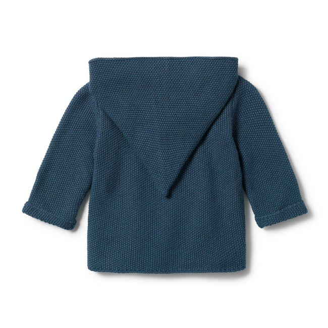 Wilson & Frenchy Knitted Jacket - Steel Blue