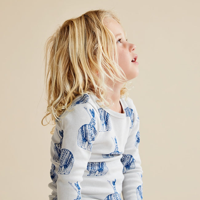Wilson & Frenchy Organic Long Sleeve Bodysuit - Little Adventurers
