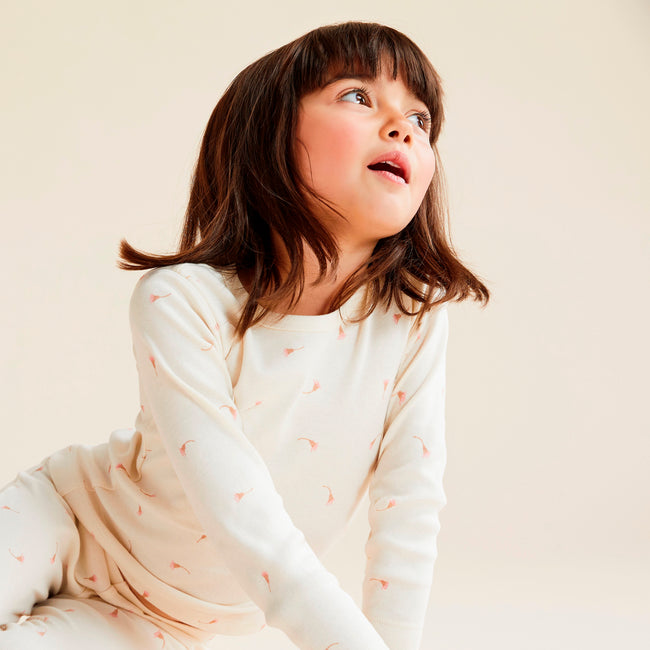 Wilson & Frenchy Organic Long Sleeve PJ Set - Little Blossom