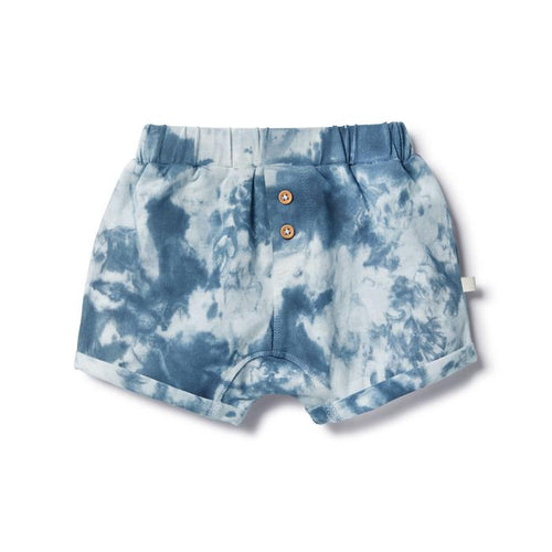 Wilson & Frenchy Organic Slouch Short - Whale Blue