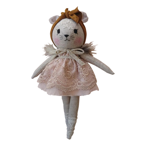 Wonderforest Co Mouse Doll - Pretty Pink and Mustard Exclusive