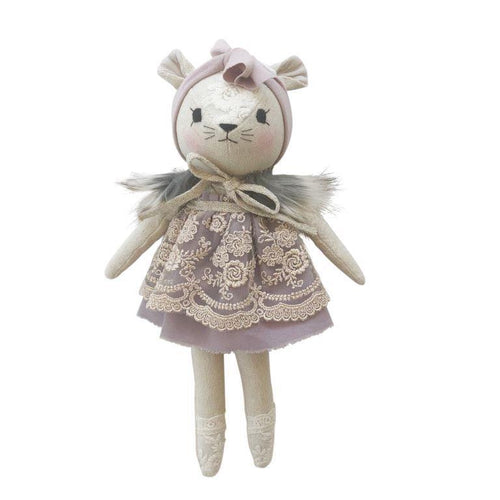 Wonderforest Co Mouse Doll - Purple