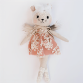 Wonderforest Co Mouse Doll - Rust
