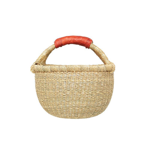 Round Basket - Mini Natural