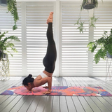 Yogat Yoga and Pilates Mat - Sunshine by Georgina Forbes