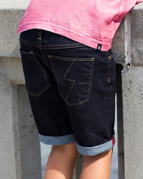Alphabet_Soup_Midnight_Shorts_Raw_Denim