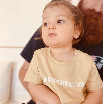 Inclusion Revolution Kids Tee - Inclusion Revolution - Tan