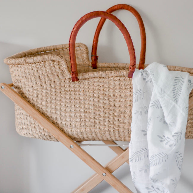 Moses Basket - Natural