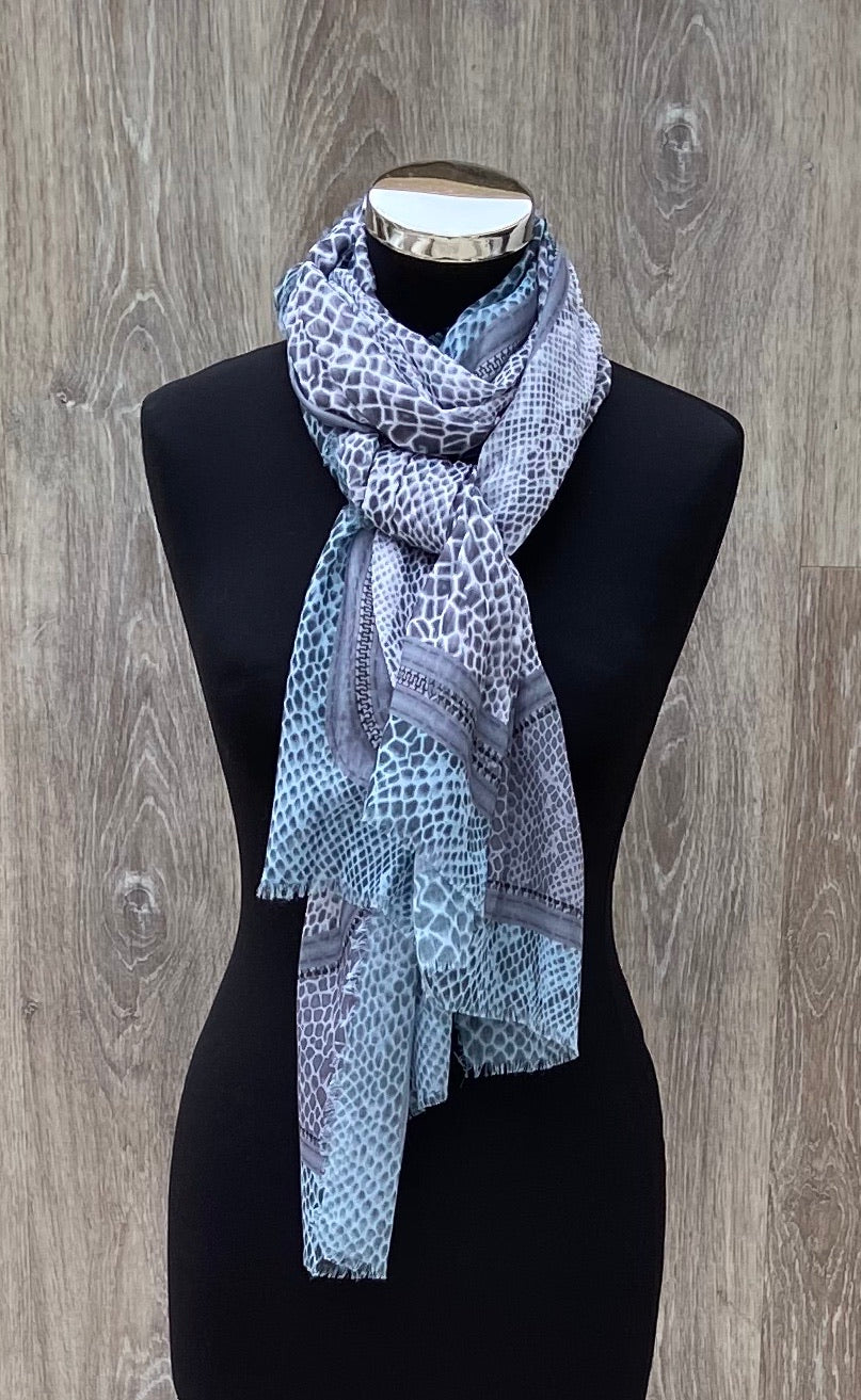 Envy Animal Print Scarf