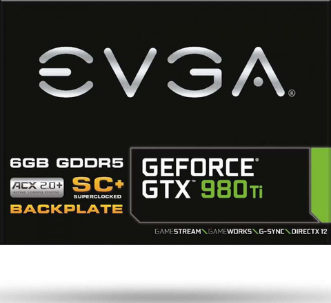 EVGA GeForce GTX 980 Ti Super Clocked Gaming ACX 2.0 6GB GDDR5