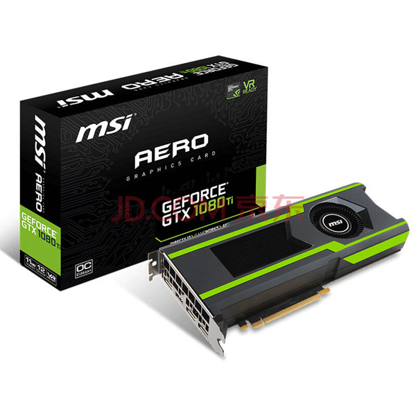 GTX1080TI AERO 11G public version of the cooling GPU rendering VR game graphics