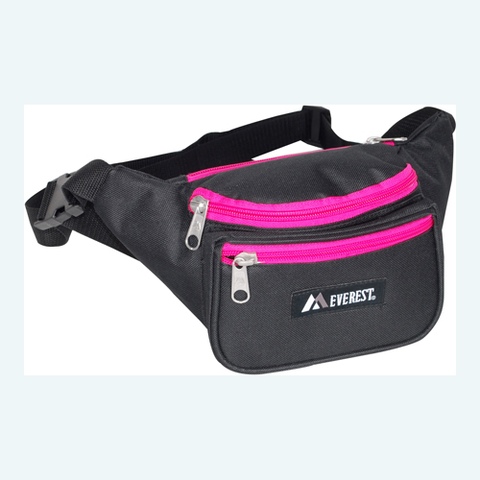 black/HP fanny pack