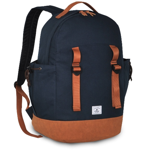 Navy journey backpack