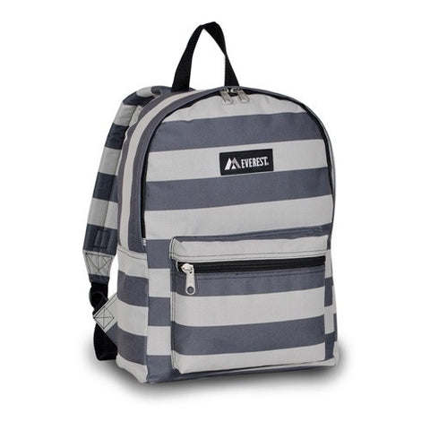 Gray Stripes backpack