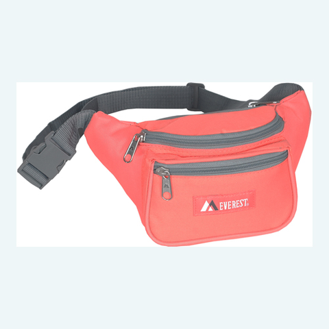 Coral Everset fanny pack
