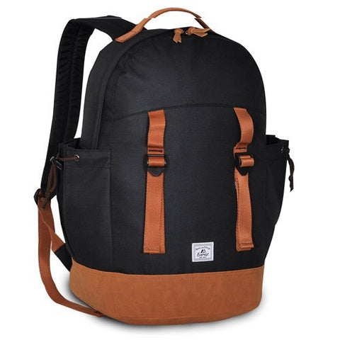 Black journey backpack