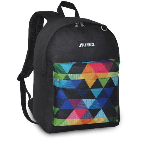 Black prism backpack