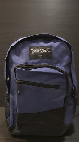 Royal blue mini backpack