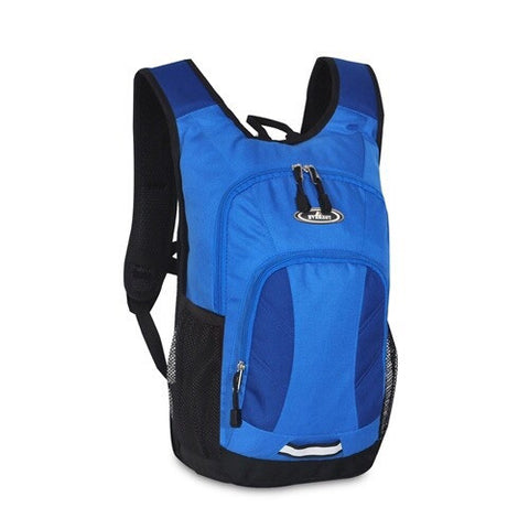 Royal blue mini hiking backpack