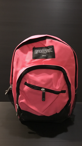 Hot pink mini backpack