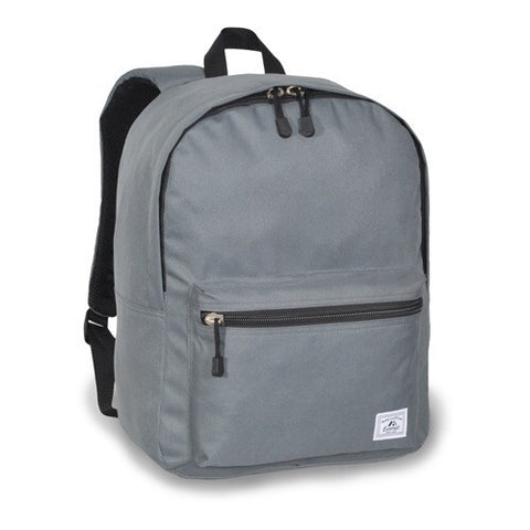 Gray deluxe laptop bag