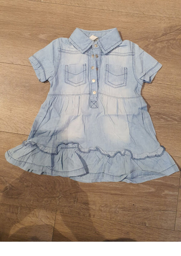 Jeans dress for baby girls 20113127