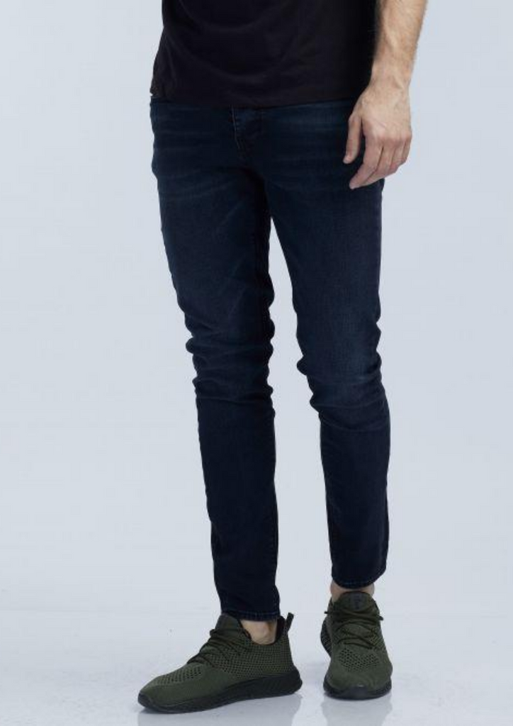 Dark blue jeans for men 011005