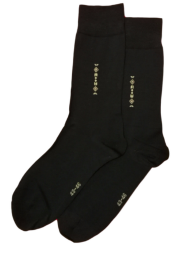 Elegant socks for men 125001