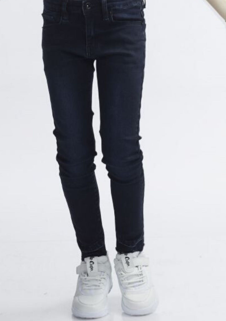 Stretched denim jeans