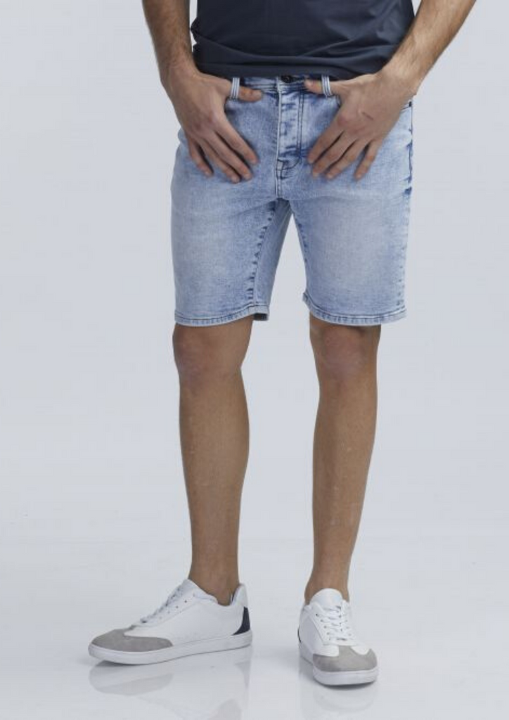 Short jeans bleach itb 011077