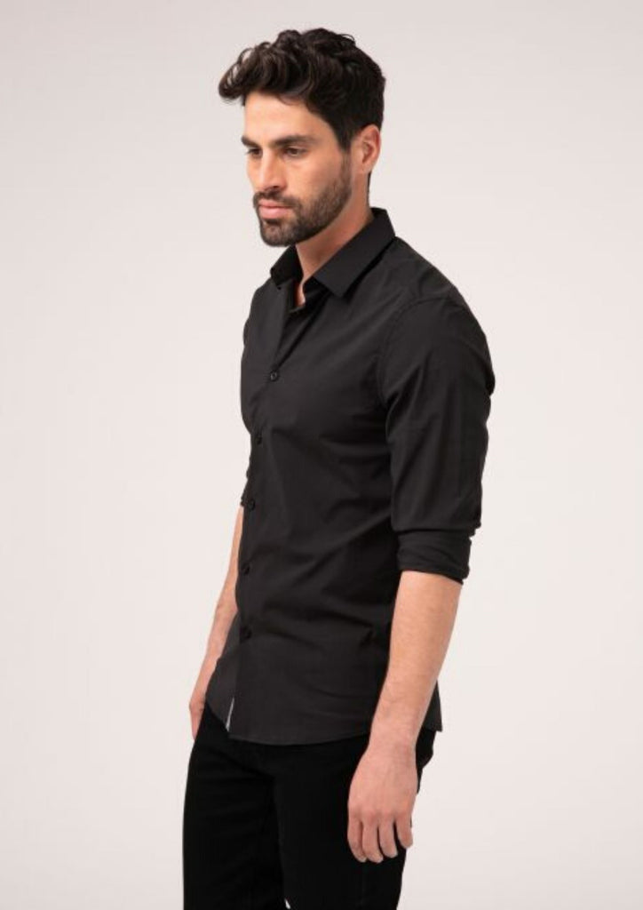 Shirt basic solid for men 911354