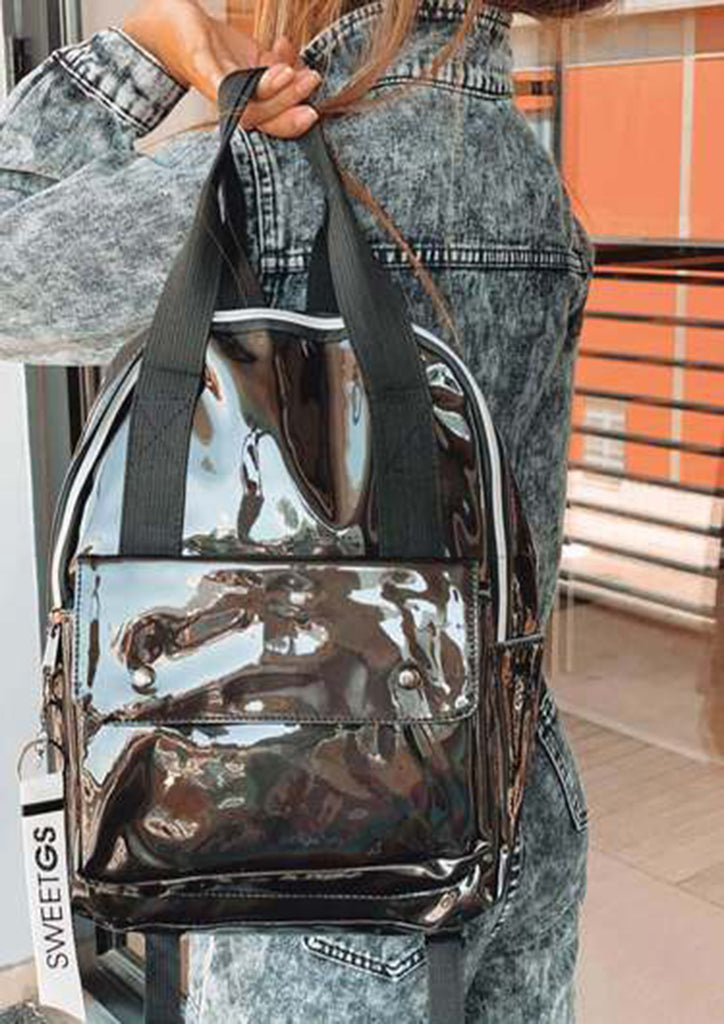 Backpack with key chains