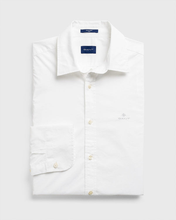 Slim Fit Tech Prep™ SOLID Broadcloth Shirt
