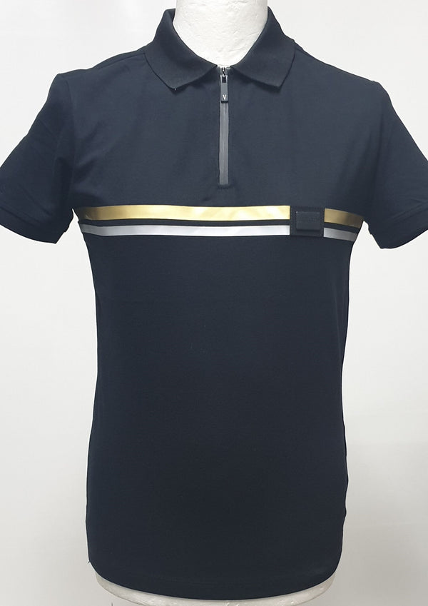 Polo Shirt With Zipper For Men 14465