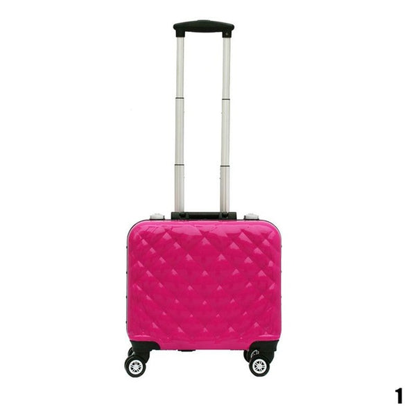 EasyPort by RoseGrey Portable Vanity Case with Universal World Travel AC Power Plug Convertor