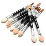 Eye Shadow Eyeliner Lip Brush Set Disposable Applicators 100 Pcs