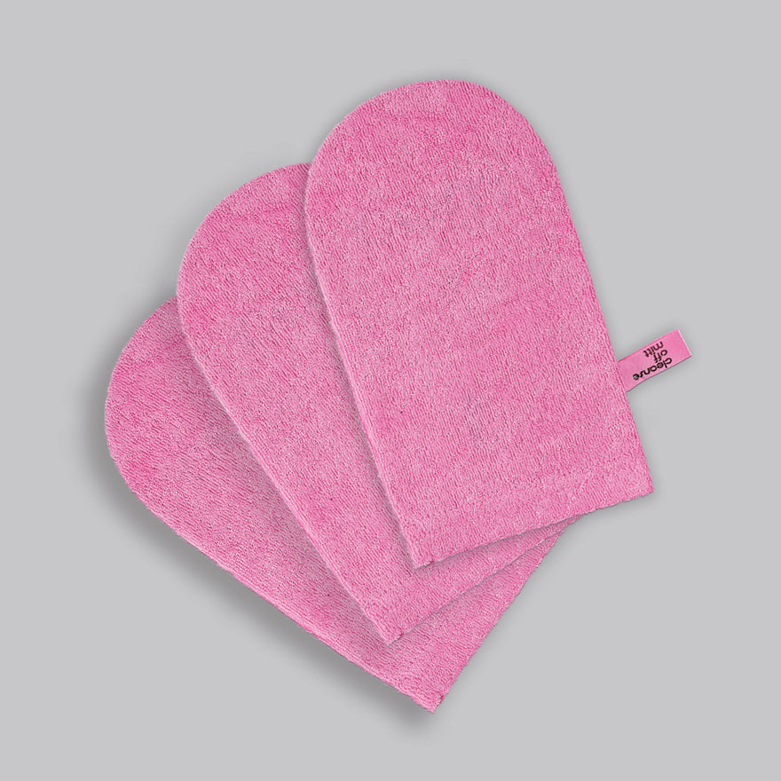 Limited Edition Pink Cleanse Off Mitt Weekend Pack (3 Pack)