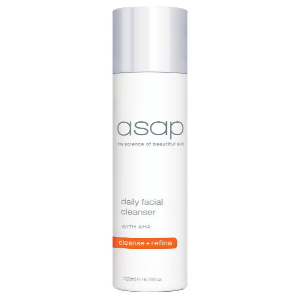 asap skincare daily facial cleanser