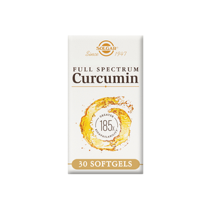Solgar Full Spectrum Curcumin Supplement (30 Soft Gels)